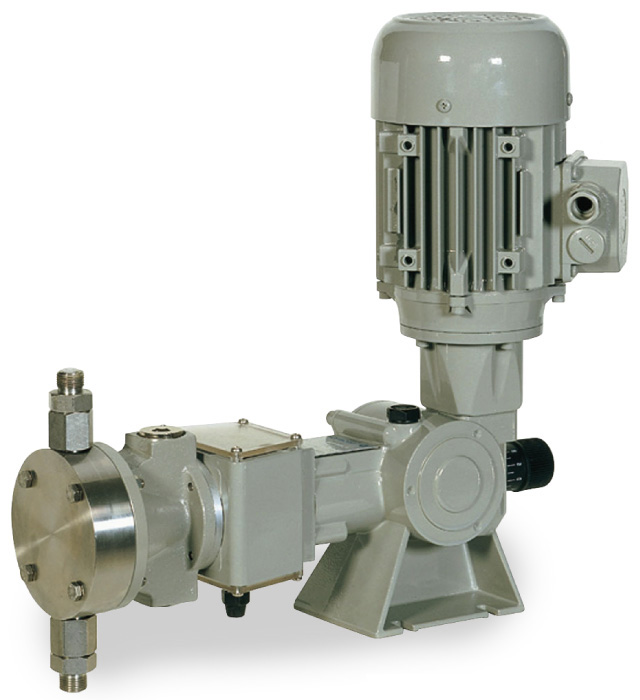 Pompa a Membrana Idraulica - Ritorno a Molla  - Serie SR tipo B&BR - B 125 N