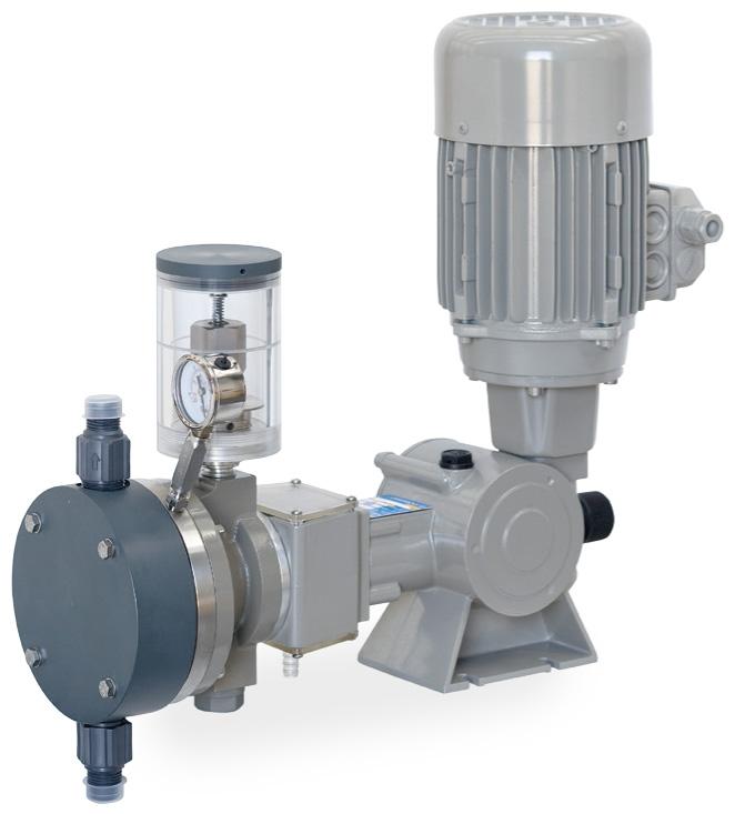 Pompa a Doppia Membrana Idraulica - Ritorno a Molla  - Serie SR tipo SD - SD 175 N