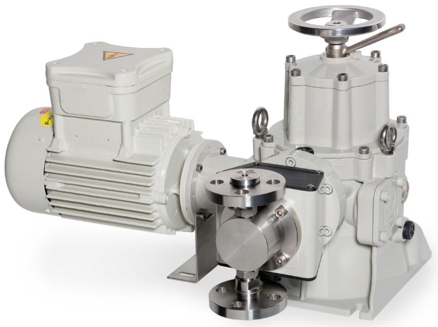 Pompa a Pistone Tuffante - Ritorno Positivo - Serie PDP tipo A-I - A-I 250 ATEX