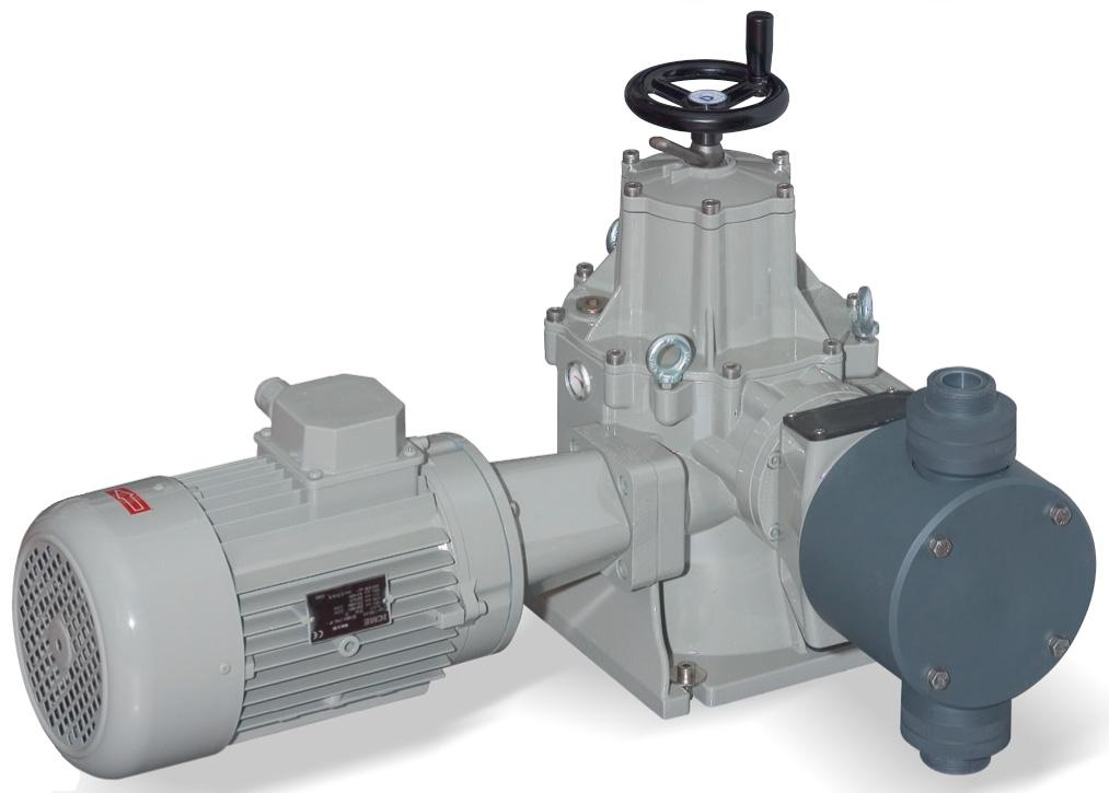 Pompa a Pistone Tuffante - Ritorno Positivo - Serie PDP tipo A-I - A-I 350